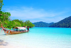 Spectacular views at the Surin Islands