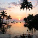 Chong Fah Beach Resort by Nor Bert, ein traumhaft schöner Sonnenuntergang....