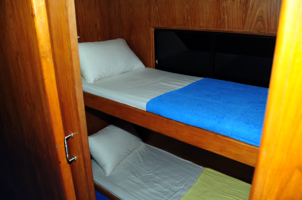 Standard Cabin on the MV Reggae Queen