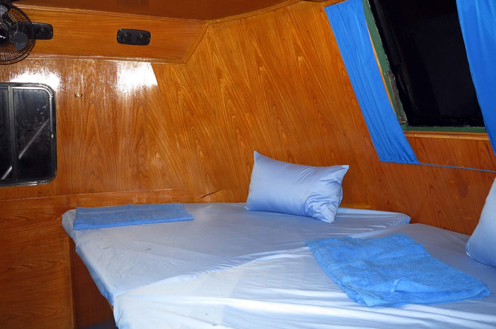 Master Cabin on the Reggae Queen