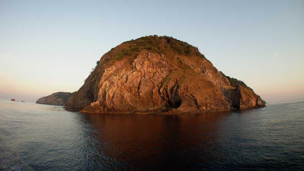 Cavern ISland in the Mergui Archipelago