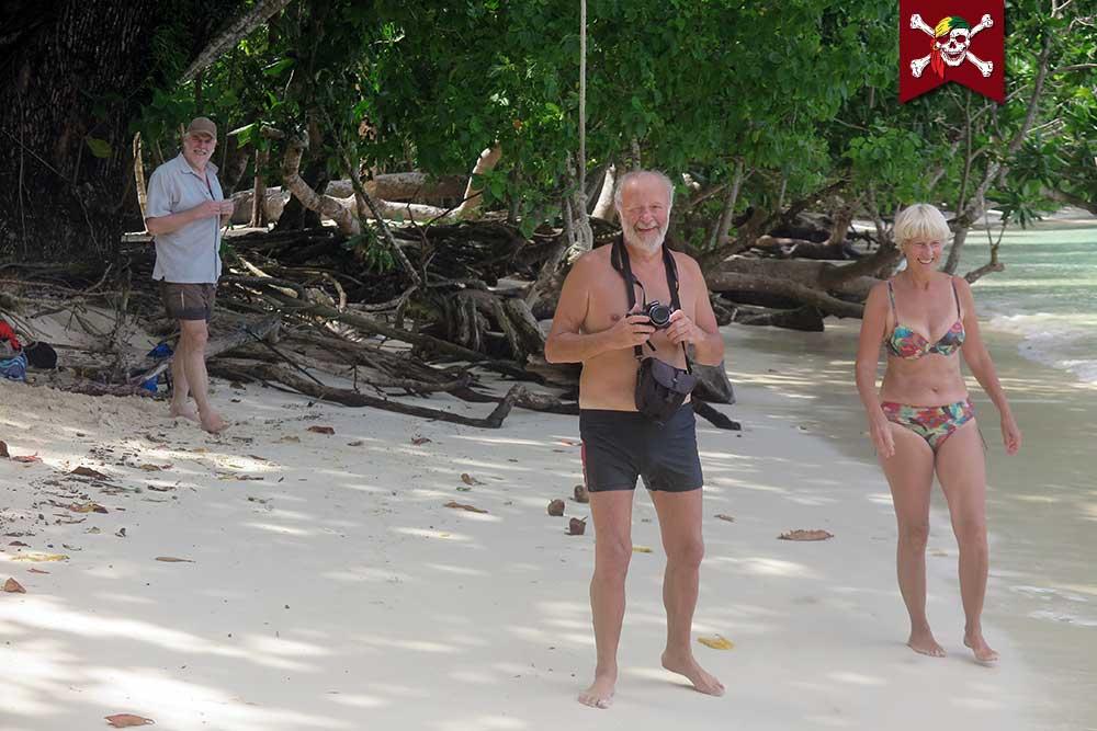 Photos on the beach at Surin