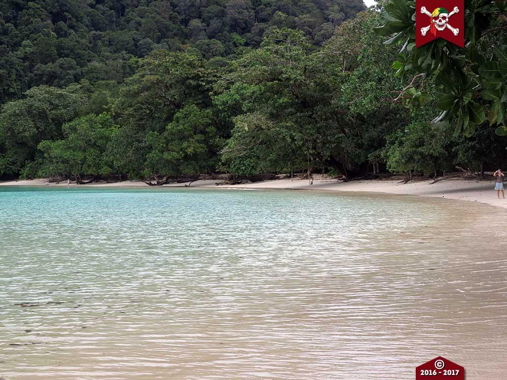 A beach at the Surin Islands