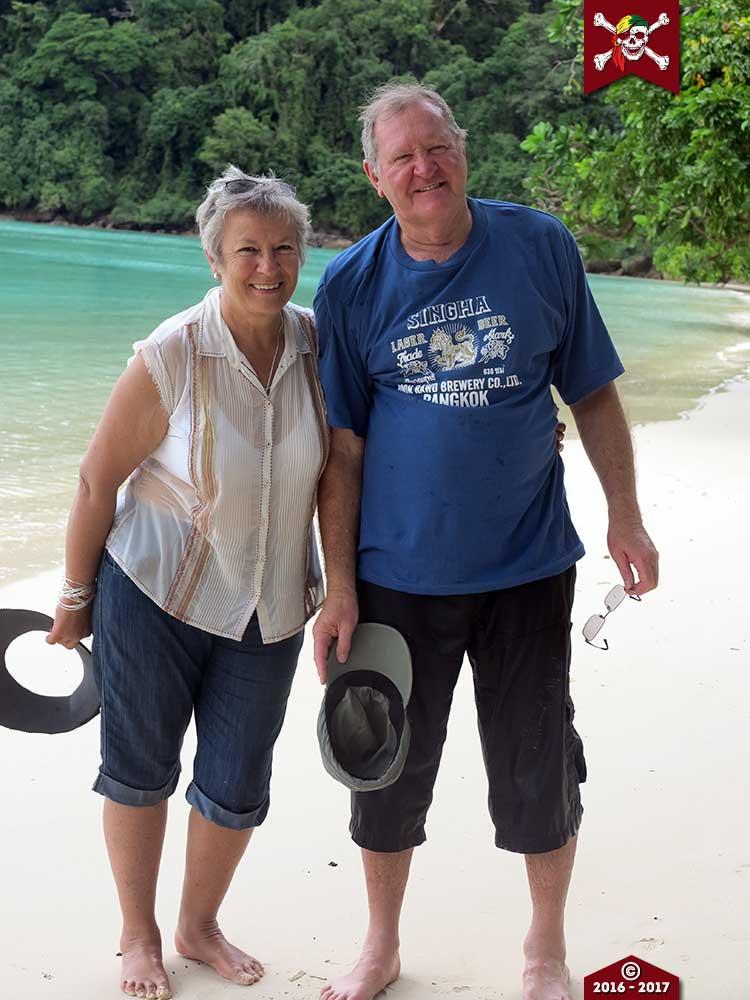 Enjoying the Surin Islands
