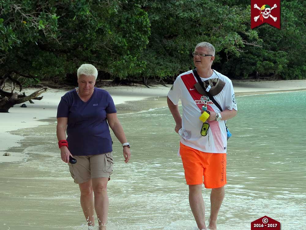 Beach Walking on the Surin Islands
