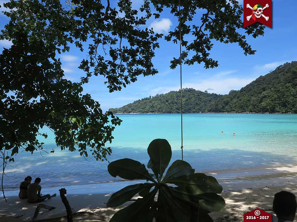 the lovely Surin Islands